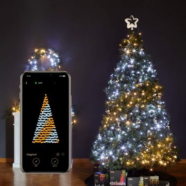 Twinkly Smart Decorations Custom LED String Lights Gold Edition