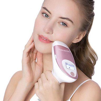 TUMAKOU Painless Permanent IPL Hair Removal Device