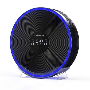 UNbeaten Air Purifiers for Bedroom with Antimicrobial True Hepa Filter