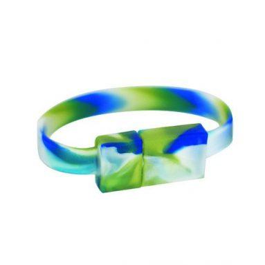 Rainforest USB Flash Drive Wristband