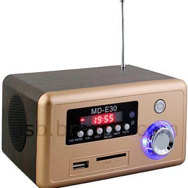 USB Retro Wooden Speaker