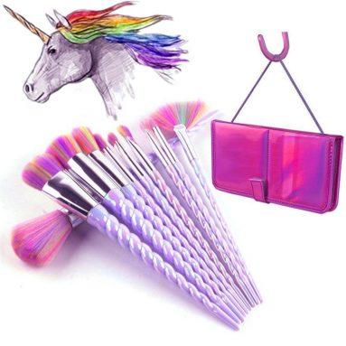 Unicorn Makeup Brushes Set