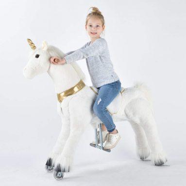 Unicorn Ride on Toy