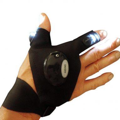 Unisex Men Women Anti-Slip Half Finger Fingerless Gloves