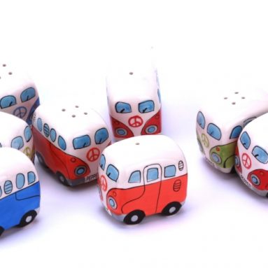 VW Camper Van / Bus Salt and Pepper Shaker Set