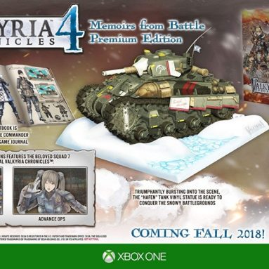 Valkyria Chronicles 4: Memoirs From Battle Edition – Xbox One