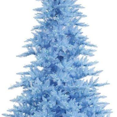 Blue Fir Tree with 1000 Blue LED Lights Christmas Tree