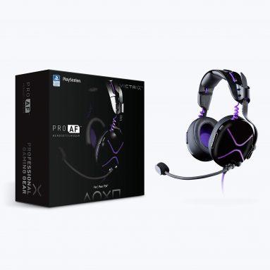 Victrix Pro Af Passive Headset with Cooling Mechanism for PlayStation 4