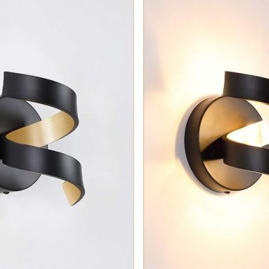 Vintage LED Wall Sconce Lamp with LED