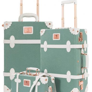 Vintage Suitcase 3 Piece Luggage Set