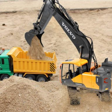 Volvo RC Excavator 3 in 1 Remote Control ONETOPU Truck Full Functional