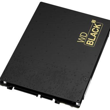 WD Black2 Dual Drive 2.5″ 120 GB SSD 1 TB HDD Kit