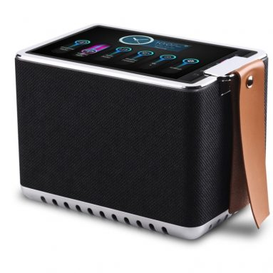WIFI Internet Radio Bluetooth Speaker with 8 High Definition Touchscreen, 8-Hour Playtime, Metal Structure