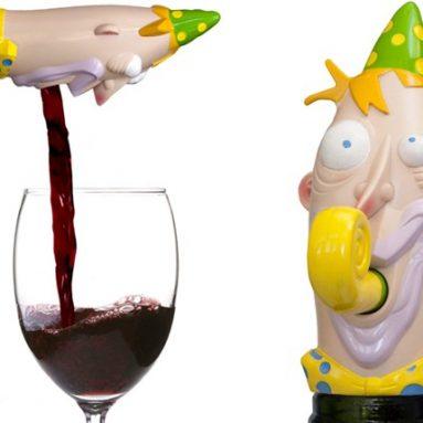 PARTY GUY WINE HEAD
