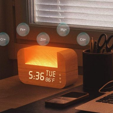 Wake-Up Light with Himalayan Salt