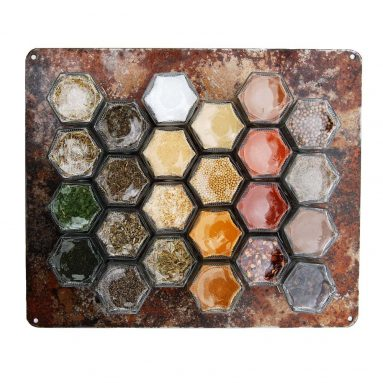 Wall Hanging Magnetic Spice Rack