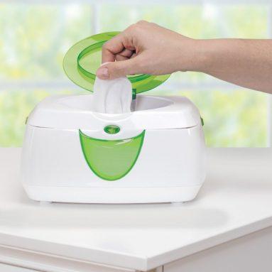 Warm Glow Wipe Warmer and Diaper Bag Dispenser Set