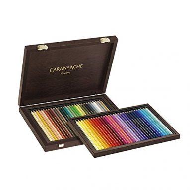 Watercolor Pencil Wood Box Set