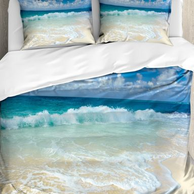 Wave Queen Size Duvet Cover
