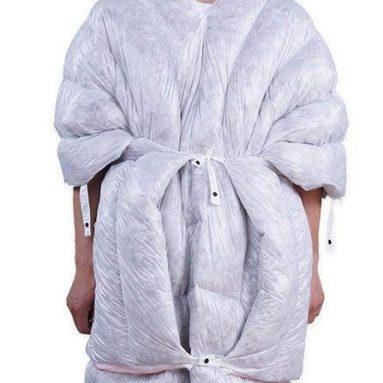 Wearable 95% Goose Down Sleeping Bag UL Quilt Envelope Down Sleeping Bag