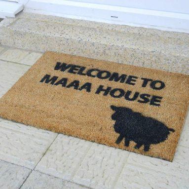 Welcome To Maaa House Novelty Doormat