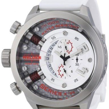 Welder Chronograph Steel Unisex Watch