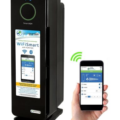 WiFi Smart 4-in-1 Air Cleaning System with SmartAQM Air Quality Monitor