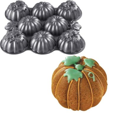 Wilton Mens Mini Pumpkins Cake Pan