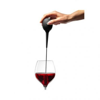 Wine Wand Automatic Wine Aerator with Stainless Steel Stand