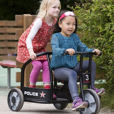 Winther Police Tricycle Children's Ride on