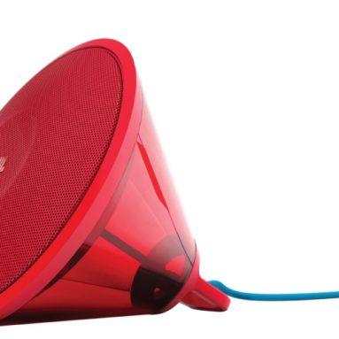 Red Wireless Bluetooth Speaker