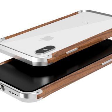 Wood & Aluminum iPhone X/XS Case