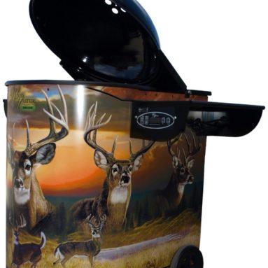 WoodMaster Deer Collage Pellet Grill