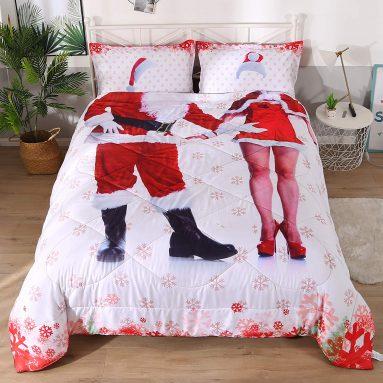 Wowelife Santa Claus Comforter Set