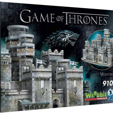 Wrebbit 3D Winterfell 3D Jigsaw Puzzle