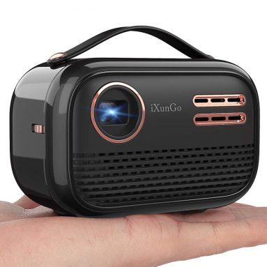 YAKAR Portable Wi Fi projector
