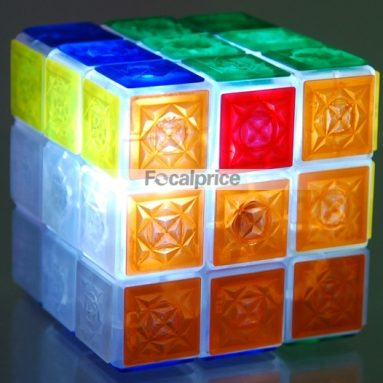 Flash Lighting Crystal Puzzle Cube