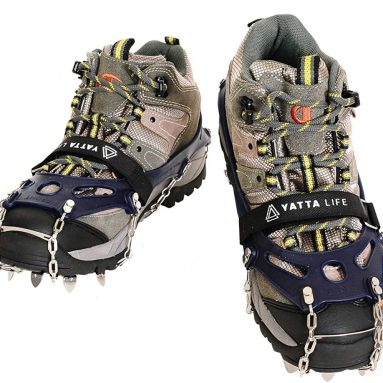 Yatta Life Heavy Duty Trail Spikes 14-Spikes Ice Grip Snow Cleats Footwear Crampons
