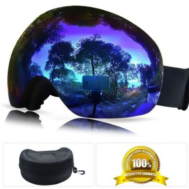 Snowboard Goggles with Interchangeable Lens System