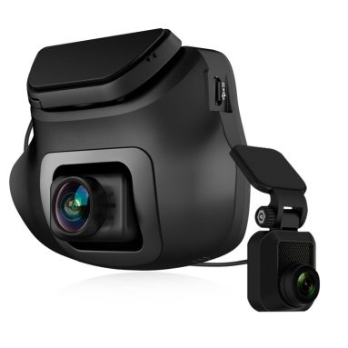 Z-EDGE S3 Dual Dash Cam – Ultra HD 1440P Front & 1080P Rear 150 Degree Wide Angle Dual Lens Car Camera