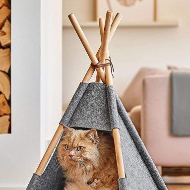Zeller Tipi Cat Tent Felt/Wood