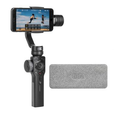Zhiyun Smooth 4 3-Axis Handheld Gimbal Stabilizer with Focus Pull & Zoom Capability
