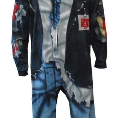 Zombie Unisex Footed Pajama