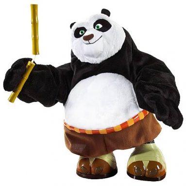 Kung Fu Panda Kicking Po