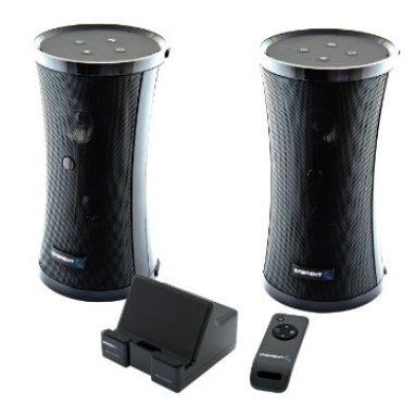 Weather Resistant Wireless Indoor/Outdoor 2 Speaker System