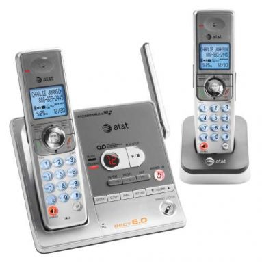New AT&T-Branded DECT 6.0 Cordless Phones