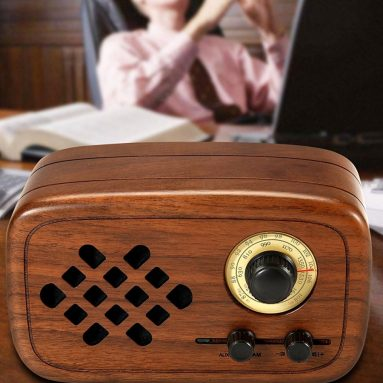 Wood Bluetooth 4.0 Wireless Speakers