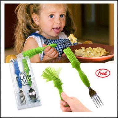 Flop Tops Fork & Spoon