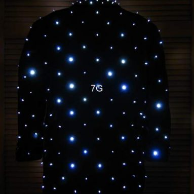 Jacket with 300 LEDs
