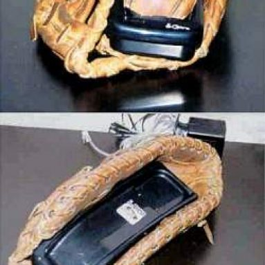 Cordless Baseball Telephone